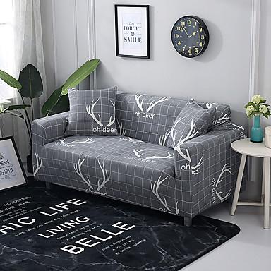 capa de sofá nordic antlers impresso slipésters de poliéster