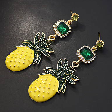 povoljno Modne naušnice-Žene Viseće naušnice Pakiranje Naušnice Jewelry Crn Za Dnevno 1 par