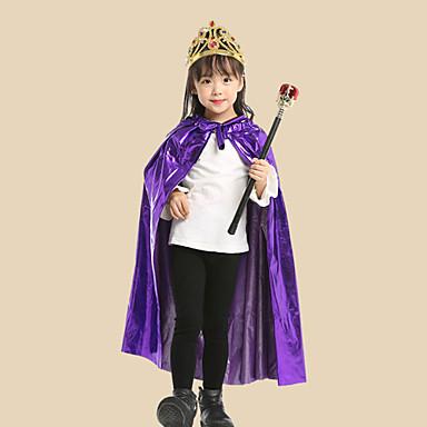 Inspirado por Fantasias Escola de Magia e Bruxaria de Hogwarts Anime Fantasias de Cosplay Japanês Ternos de Cosplay Capa / Tiaras / Vara Para Para Meninas