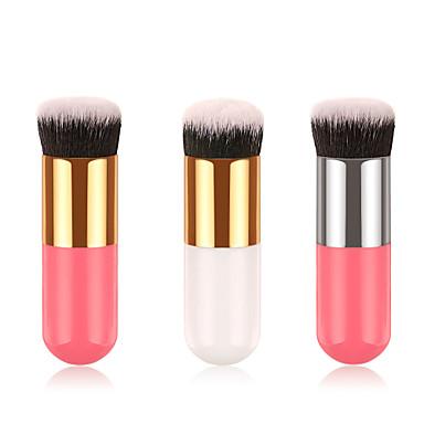 Profissional Pincéis de maquiagem 1 Peça Macio Novo Design Cobertura Total Adorável Confortável Plástico para Conjunto de maquiagem Acessórios para Maquiagem Pincéis de Maquiagem Pincel para Base