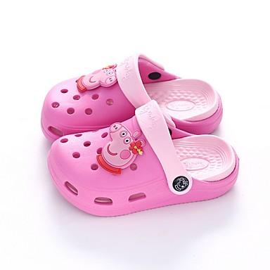 preiswerte Kinderhausschuhe10240516-Jungen Fersenriemen EVA Slippers & Flip-Flops Kleine Kinder (4-7 Jahre) Blau / Rosa Sommer