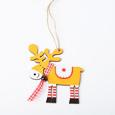 Ornamentos Madeira 1pç Natal
