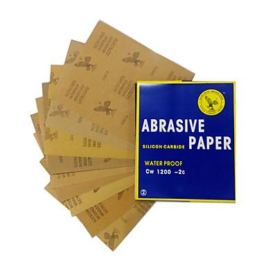 preiswerte Autolackstift-23x28 cm wasserdicht schleifpapier für automobilmöbel polieren schleifen 120 bis 2000 körnung sandpapier sortiment models2000 #