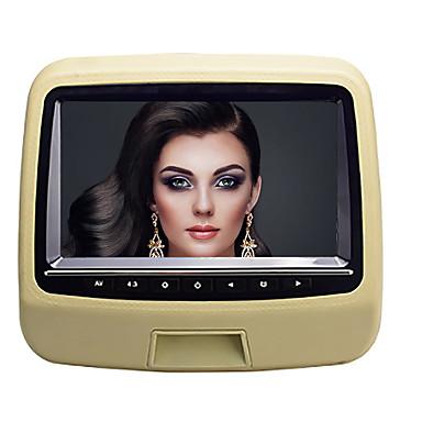 levne Auto Elektronika-9 palců 1 din android 8,0 vedl opěrku hlavy dvd přehrávač hry / sd / usb podpora pro univerzální podporu hdmi avi / mpg / dat m4a jpeg