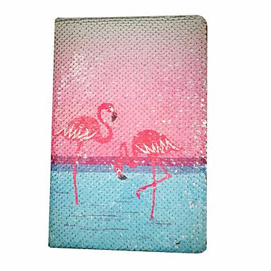 Moda especialidade papel / dupla face escala lantejoulas série flamingo notepads / note book para escritório da escola papelaria a5