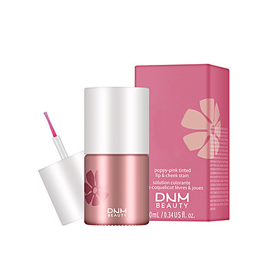 cheap Beauty & Hair-Brand DNM Lip And Cheek Dual-Use Lipstick Liquid Natural Durable Waterproof Blush Non-Stick Cup Velvet Liquid Lip Glaze