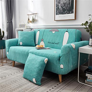 a impressão do longing da tampa do sofá imprimiu slipcovers do poliéster