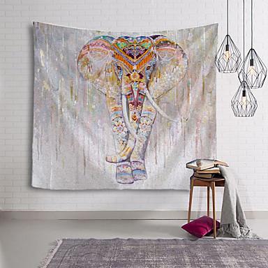 cheap Wall Tapestries-Mandala Bohemian Wall Tapestry Art Decor Blanket Curtain Hanging Home Bedroom Living Room Dorm Decoration Boho Hippie Indian Elephant