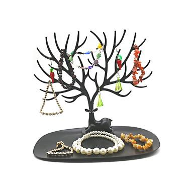 voordelige Dames Sieraden-Onregelmatig Juwelenstandaarden - modieus, Modieus Zwart, Wit 25 cm 15 cm 21 cm