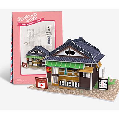 levne 3D puzzle-3D puzzle Modele Dřevěný model Dům Zábava Dřevo 1 pcs Klasické Dětské Hračky Dárek