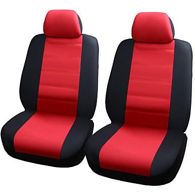 billige Interiørtilbehør til bilen-bilseter beskytter seter dekker elastisk netting materiale sammensatt 2mm svamp seter deksel-4stk