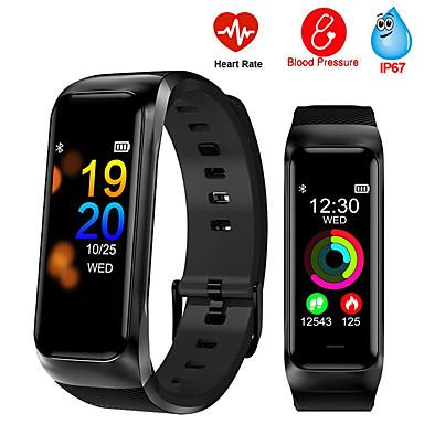 B02 pulseira inteligente ip68 à prova d 'água de apoio monitor de pressão arterial de freqüência cardíaca esportes banda inteligente rastreador de fitness