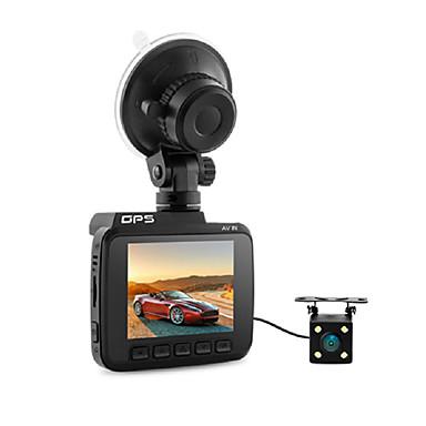 levne Auto Elektronika-duální objektiv wifi fhd 1080p přední vga zadní auto dvr rekordér 2880 x 2160p dash cam novatek 96660 fotoaparát vestavěný gps