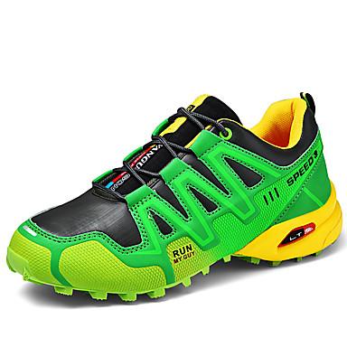 preiswerte Schuhe und Taschen-Herrn Komfort Schuhe Gitter Frühling Sommer / Herbst Winter Sport / Freizeit Sportschuhe Rennen / Walking Grün / Schwarz / weiss / Orange / Sportlich