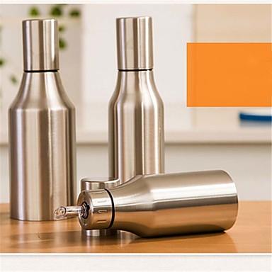 1pç Dispensers de Óleo Aço Inoxidável Armazenamento Para utensílios de cozinha