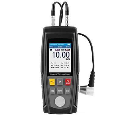 voordelige Test-, meet- & inspectieapparatuur-wt130a digitale ultrasone diktemeter meter tester usb opladen digitale dikte metalen tester hoge precisie