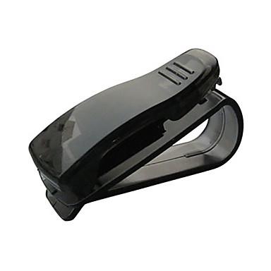levne Doplňky do interiéru-hot prodej cip podprsenka auto příslušenství abs auto sluneční clona sluneční brýle držitel lístku klip