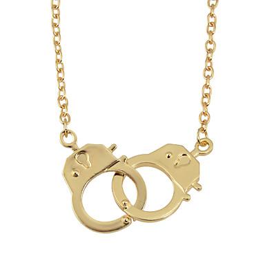 povoljno Modne ogrlice-Žene Ogrlice s privjeskom Lisice Korejski slatko Moda Krom Bronza Crno / siva Zlato Pink 68 cm Ogrlice Jewelry 1pc Za Dar Dnevno Rad