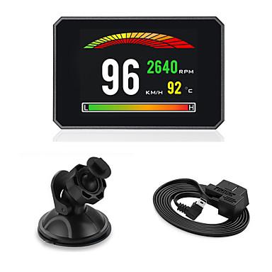 levne Auto Elektronika-displej automobilu hlava nahoru digitální rychlost projektoru palubní počítač obd2 elm327 rychloměr čelní sklo modelsp16
