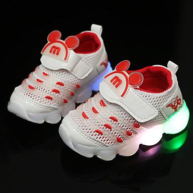 preiswerte Schuhe für Kinder-Jungen / Mädchen Komfort Kunststoff Sportschuhe Kleinkind (9m-4ys) / Kleine Kinder (4-7 Jahre) Weiß / Schwarz / Rosa Frühling / Herbst / Gummi
