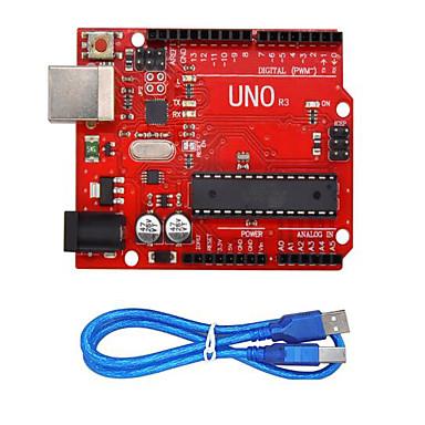 levne Elektrické vybavení-uno r3 (červená) pájecí lišta