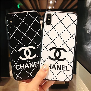 cheap iPhone Cases-Case For Apple iPhone XS / iPhone XR / iPhone XS Max Ultra-thin / Pattern Back Cover Word / Phrase / Geometric Pattern TPU