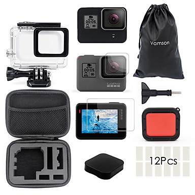 cheap Sports Action Cameras & Accessories  For Gopro-Waterproof Housing Case Waterproof Case For Action Camera Gopro 7 Gopro 6 Gopro 5 Traveling Ice Skate Winter Sports ABS+PC