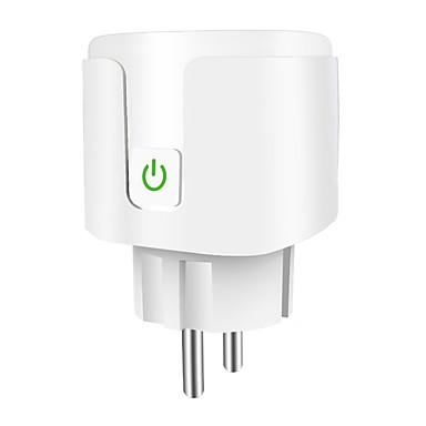 Europeu alexa tomada inteligente wi-fi celular interruptor de temporização plug fabricante casa inteligente oem