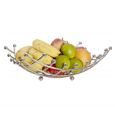 Cesta de frutas tigela de vegetais rack de cestas de aço inoxidável suporte de armazenamento titular apple orange metal cesta de armazenamento nórdico