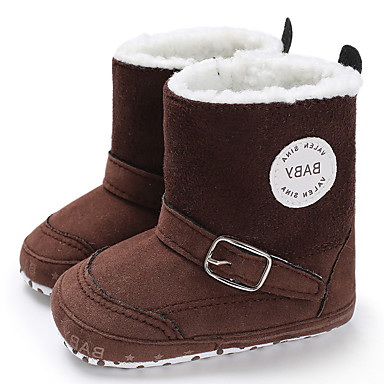 cheap For ages 0-9 mos.-Boys' / Girls' First Walkers Suede Boots Infants(0-9m) / Toddler(9m-4ys) Fuchsia / Coffee / Blue Winter