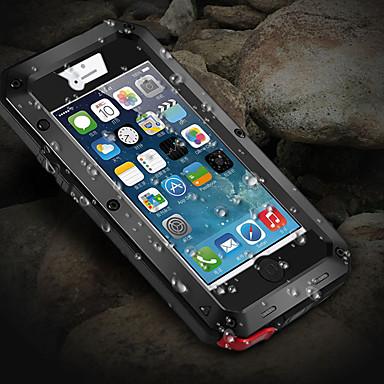 povoljno iPhone maske-futrola za jabuke iphone x / iphone 8 plus / iphone 8 / 5s / 5c / 5 otporan na udarce / otpornost na prašinu / vodootporna futrola za cijelo tijelo oklop metal