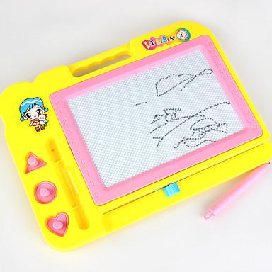 levne Kreslení hračky-Kreslení hračky Tabulky na kreslení Škola Office Desk Toys Magnetické tvrdý plast Klasické Dětské Chlapecké Dívčí Hračky Dárek