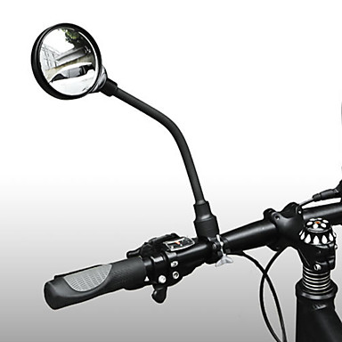 billige Sykkeltilbehør-Bakspeil Speil til sykkelstyre Justerbare Bærbar Støtsikker Sykling motorsykkel Sykkel Aluminium PVC Svart Vei Sykkel Fjellsykkel Sykkel med fast gir