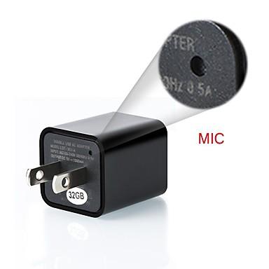 povoljno Zaštita i sigurnost-zidni mini punjač 1080p cmos kvadratni ip kamera detekcija pokreta mini dvr video snimač 8-32gb telefonski utikač podrška za kameru veličine memorije 8gb