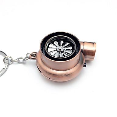 levne Doplňky do interiéru-kreativní elektrický turbo zapalovač klíčenka usb nabíjecí zapalovač na klíče zapalovač s led světlem a zvukem