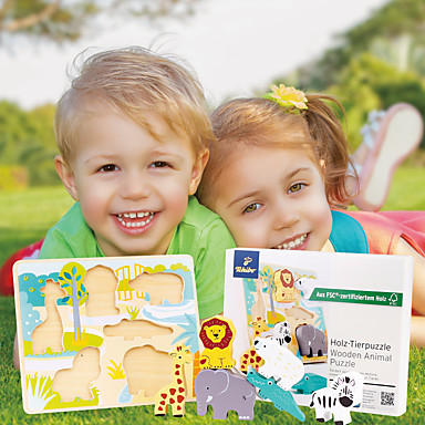 preiswerte Holzpuzzle-Holzpuzzle Rennauto Profi Level Einfache Neues Design Hölzern 1 pcs Kinder Alles Spielzeuge Geschenk