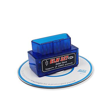 preiswerte OBD-super mini elm327 autofehlerdiagnose instrumentcar fehlerdetektor obdii diagnosecodeleser bluetooth v1.5 obd2 geeignet für android mit 25k80 chip