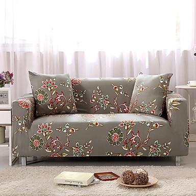 a tampa do sofá seja slipcovers impressos encalhados do poliéster