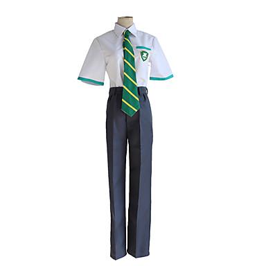Inspirado por Fantasias Taki Tachibana Anime Fantasias de Cosplay Japanês Ternos de Cosplay Blusa / Calças / Gravata Para Homens