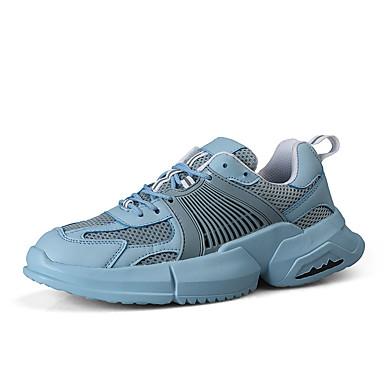 Homens Sapatos Confortáveis Com Transparência Verão Tênis Caminhada Amarelo / Verde / Azul