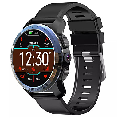 Kospet Optimus Pro 4G-LTE Smart Watch Dual Chip System Fitness Tracker Support GPS/Notify Smartwatch phone with AMOLED Screen /8.0MP Camera