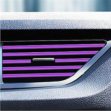 voordelige Auto-interieur accessoires-auto-interieur airconditioner uitlaat ventilatierooster strips decoratie u vorm interieurlijst sierlijsten