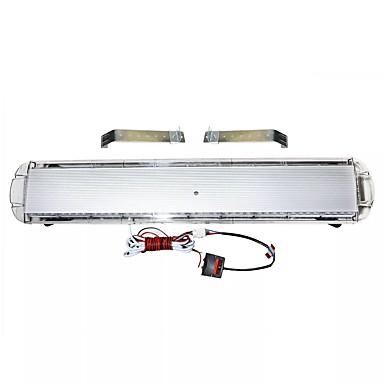 billige Automotiv-1stk 88 led strobe lys bar nødlyssignal varsel signal lys slep lastebil reaksjon rød hvit 47 ''