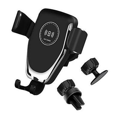 levne Doplňky do interiéru-10w qi auto bezdrátová nabíječka rychlé nabíjení chytrý telefon držák držák pro iphone 8 8 plus xs samsung s8 s9 s10