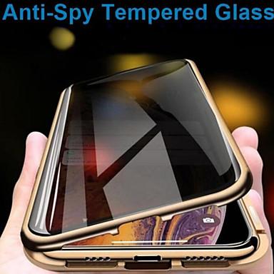 povoljno Apple oprema-futrola za jabuke iphone xs / iphone xr / iphone xs max / 7 8plus / 7 8 / 6splus / 6s / 6 prozirna / magnetska futrola u cijelom tijelu od punog obojenog kaljenog stakla