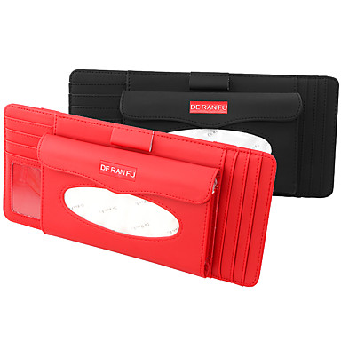 voordelige Auto-organizers-1 st cd dvd-kaarthouder opslag auto auto zonneklep pen clipper schijven houden organizer tas clip