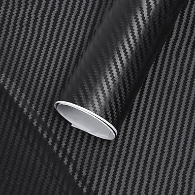 127x30cm 3d karbonfiber vinylrulle filmrulle bil klistremerke innredning bil klistremerker nye