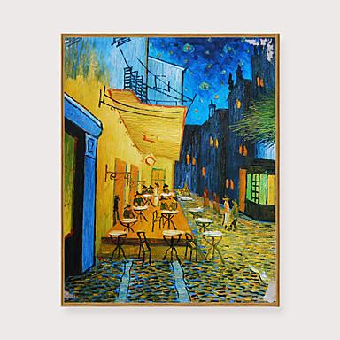 cheap Framed Arts-Framed Art Print Framed Set - Abstract Landscape PS Oil Painting Wall Art