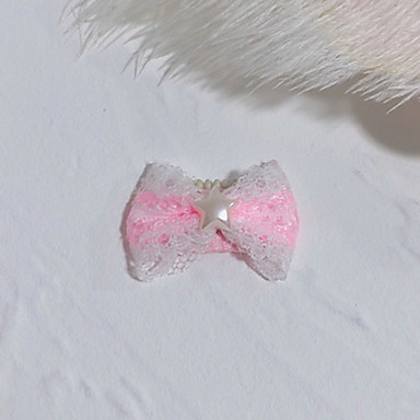 preiswerte Hundekleidung-Katze Hund Haar Accessoires Bögen Hundekleidung Kostüm Terylen Schleife Geburtstag Urlaub