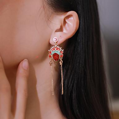 levne Dámské šperky-Dámské Náušnice Geometrické Maska Náušnice Šperky Zlatá Pro Dovolená 1 Pair